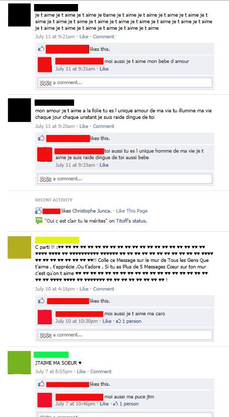 mur facebook pourri