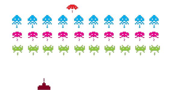 space invaders c'est la vie