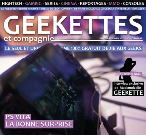 webzine geekette