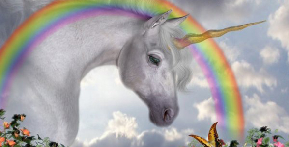 licorne arc en ciel