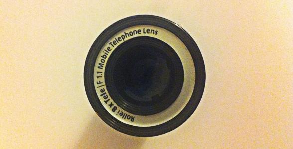 teleobjectif iphone